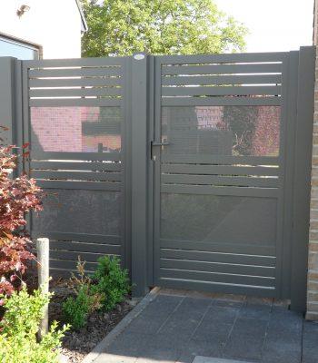 enkel deurtje met vast hekwerk Glenfiddich-Kwai